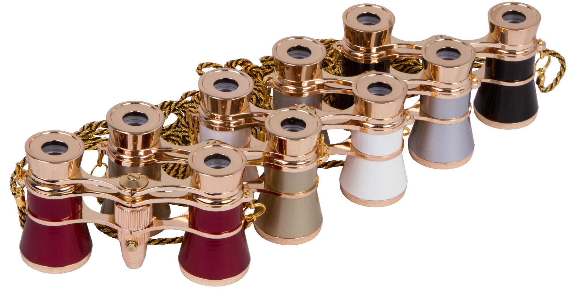 Levenhuk Broadway 325F Opera Glasses (with LED light and chain)