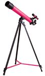 Bresser Junior Space Explorer 45/600 AZ Telescope, pink